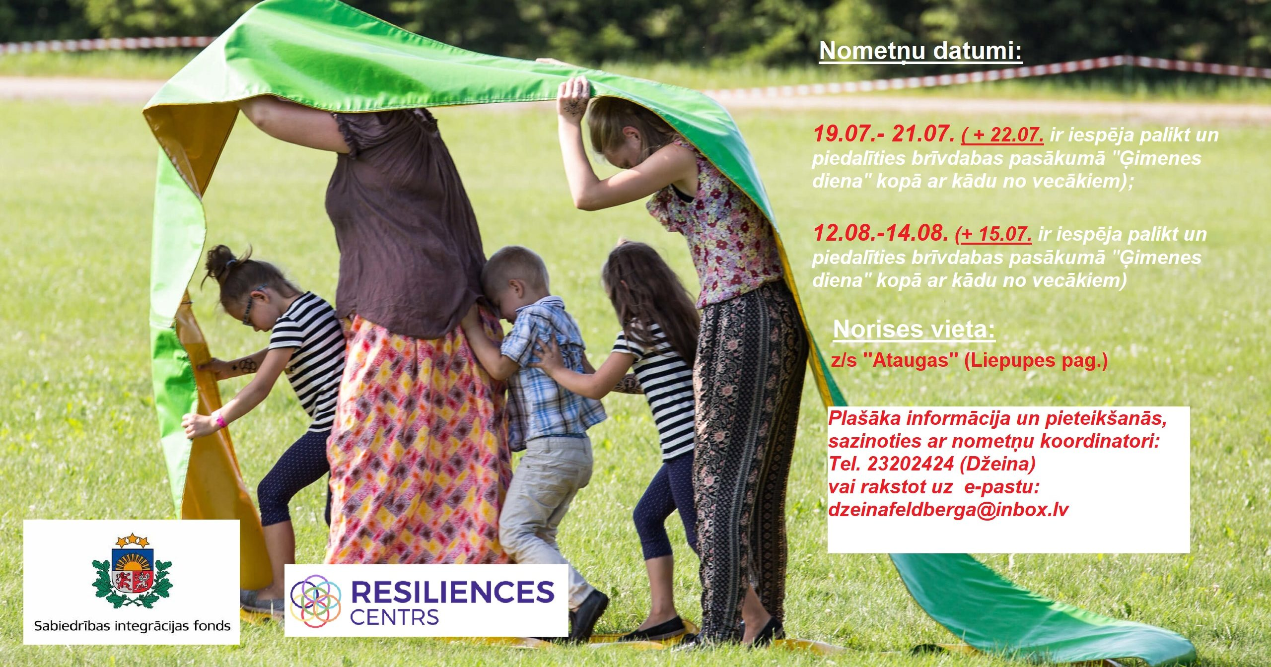 Read more about the article Piesakies bērnu un jauniešu vasaras nometnēm!